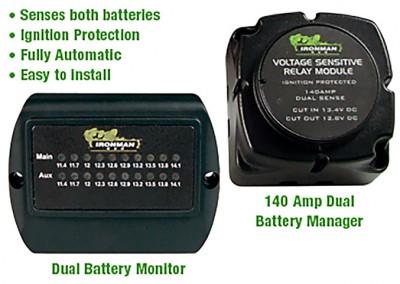Ironman 4×4 140 Amp Dual Battery Kits